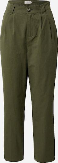 minimum Bandplooibroek 'Agnesa 7427' in de kleur Donkergroen, Productweergave