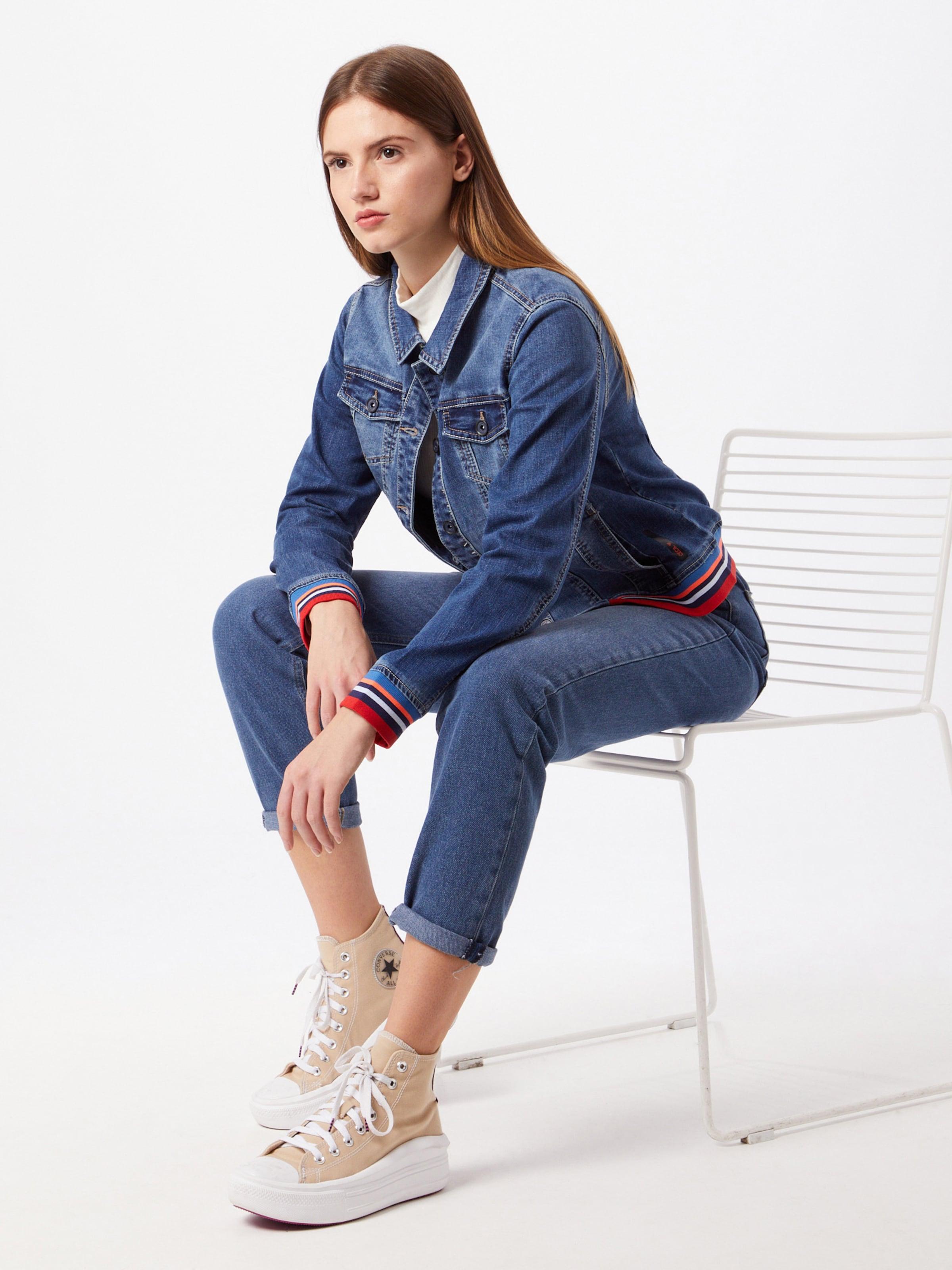 CECIL Átmeneti dzseki kék / vegyes színek színben