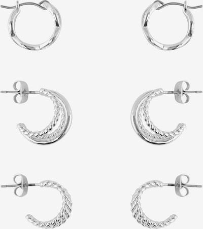PIECES Boucles d'oreilles 'Nurdan' en argent, Vue avec produit