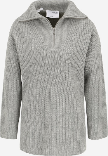 Selected Femme Petite Sweater in Light grey, Item view