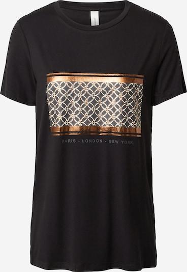 Soyaconcept Shirt 'MARICA' in bronze / schwarz / weiß, Produktansicht