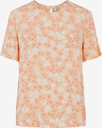 PIECES Shirt 'Nya' in Orange
