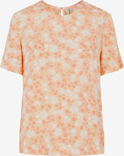 PIECES Bluse 'Nya' in apricot / pastellorange / naturweiß, Produktansicht