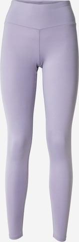 Hey Honey Sports trousers in Purple