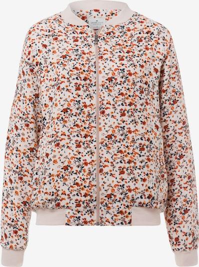 Cross Jeans Jacke '65224' in ecru / orange / rot, Produktansicht