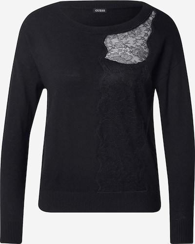 Pulover GUESS pe negru, Vizualizare produs