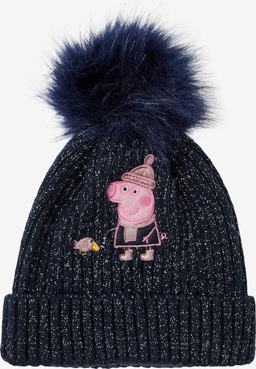 NAME IT Bonnet 'Peppa Pig' en saphir / jaune / rose, Vue avec produit