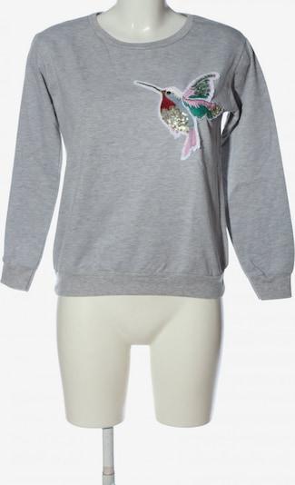 Hailys Sweatshirt & Zip-Up Hoodie in M in Light grey, Item view