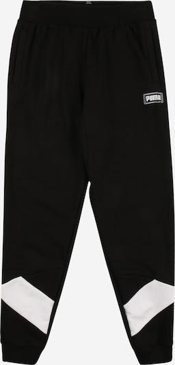 PUMA Spodnie 'Rebel' w kolorze czarny / białym, Podgląd produktu
