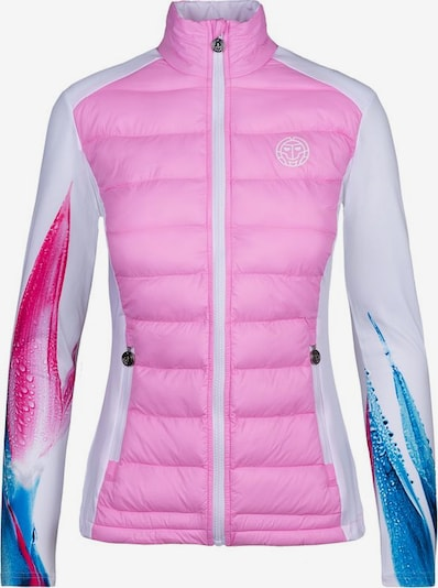 BIDI BADU Tennisjacke 'Lee Tech Down' in pink, Produktansicht