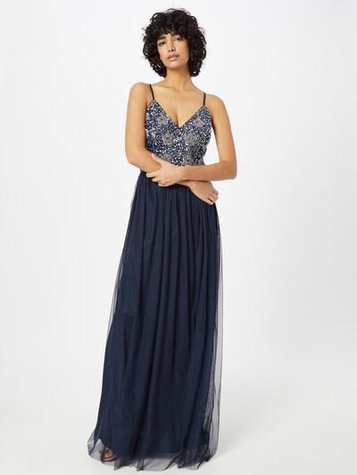 LACE & BEADS Večernja haljina 'Avon' u mornarsko plava, Prikaz modela