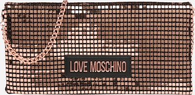 Love Moschino Tasche in gold / schwarz, Produktansicht