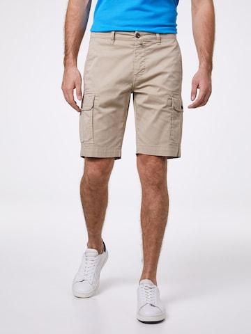 Pantalon cargo PIERRE CARDIN en beige