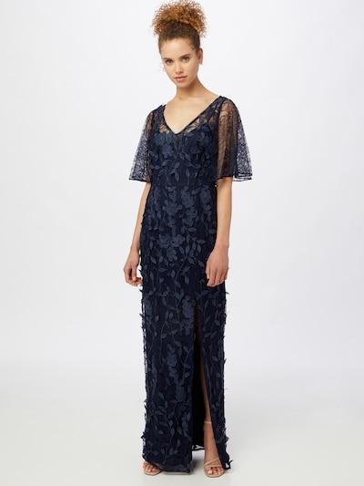 Rochie de seară Adrianna Papell pe albastru închis, Vizualizare model