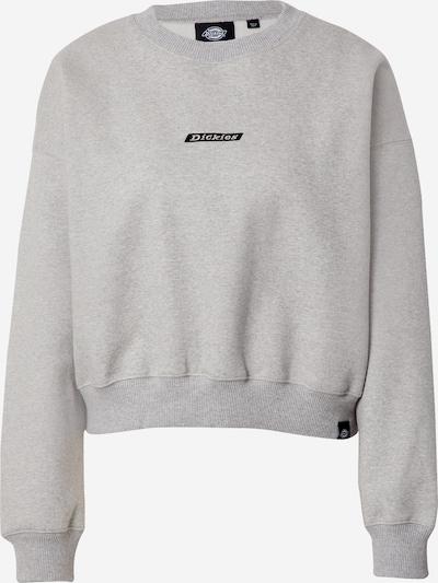 DICKIES Sweater majica 'Ferriday' u siva melange / crna, Pregled proizvoda