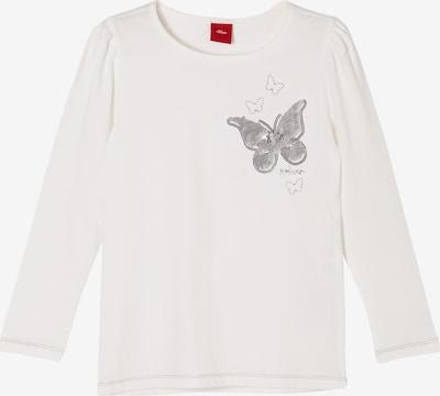 s.Oliver Jerseyshirt in offwhite, Produktansicht