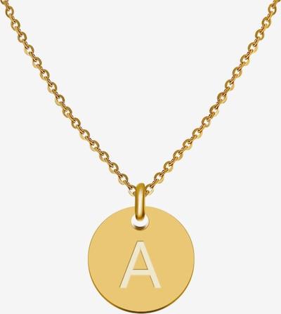 GOOD.designs Buchstabenkette 'A' in gold, Produktansicht