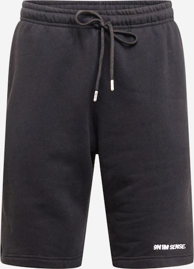 9N1M SENSE Pantalon 'SENSE' en noir, Vue avec produit