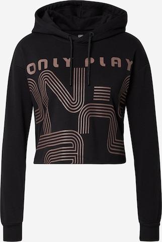 ONLY PLAY Sportsweatshirt 'JANAY' i svart