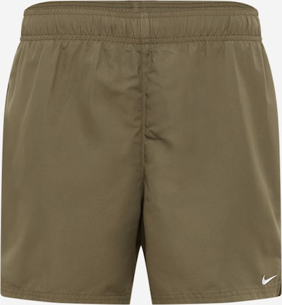 Pantaloni de baie Nike Swim pe oliv, Vizualizare produs