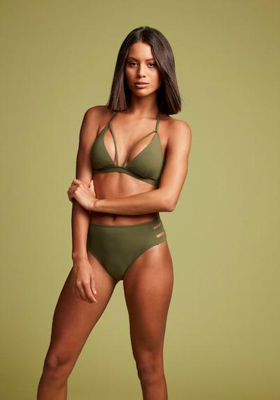 LASCANA Bikinitop in de kleur Olijfgroen, Modelweergave