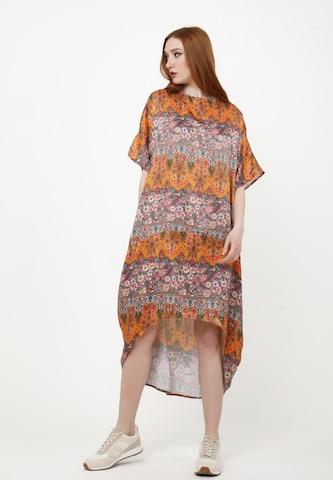 Madam-T Dress 'ASHLEY' in Orange