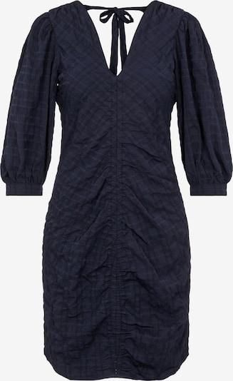 OBJECT Robe 'Gerda' en bleu marine, Vue avec produit