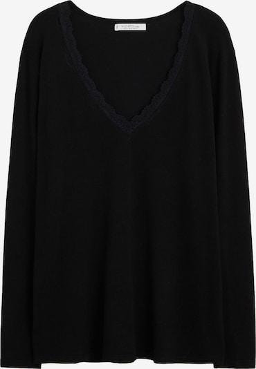 VIOLETA by Mango Pullover in schwarz, Produktansicht