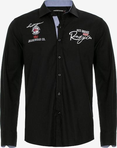 Redbridge Hemd 'South Bend' in schwarz / weiß, Produktansicht