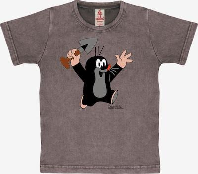 LOGOSHIRT T-Shirt 'Der kleine Maulwurf' in lila, Produktansicht