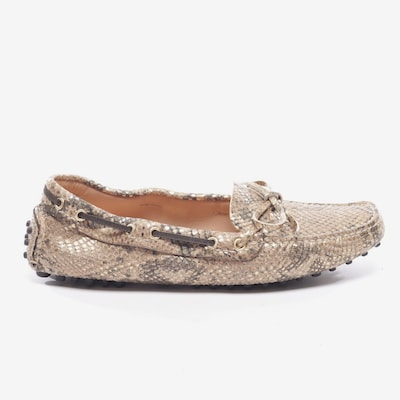 Car Shoe Flats & Loafers in 37 in Gold, Item view