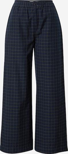 Pantaloni Thinking MU pe bleumarin / galben, Vizualizare produs