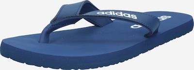 ADIDAS PERFORMANCE Strand-/badschoen 'EEZAY' in de kleur Donkerblauw / Wit, Productweergave