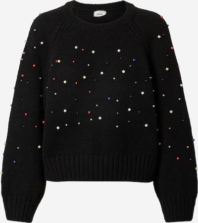 Pimkie Sweter 'SATELLITE' w kolorze mieszane kolory / czarnym: Widok z przodu