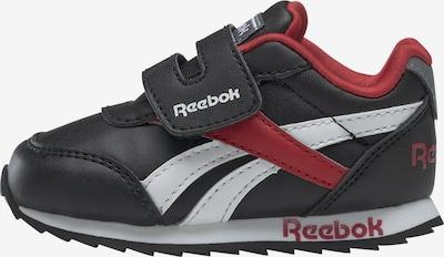 Reebok Classic Sneakers in rot / schwarz / weiß, Produktansicht