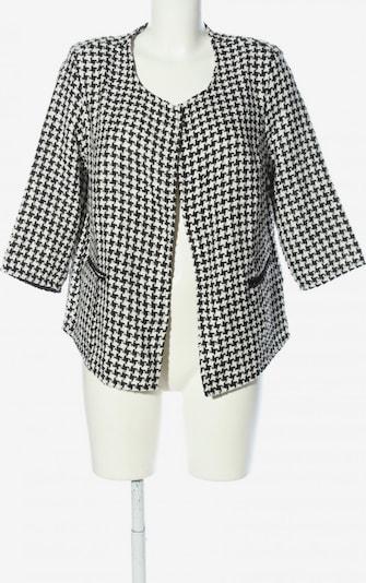 Tchibo Strickjacke in XL in schwarz / weiß, Produktansicht