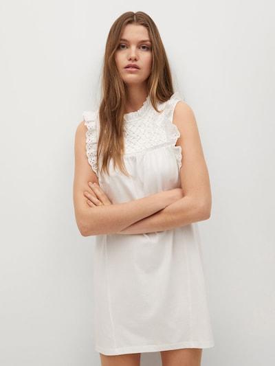 MANGO Kleid 'Petra' in creme, Modelansicht