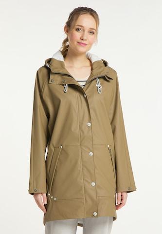 Manteau mi-saison Schmuddelwedda en vert