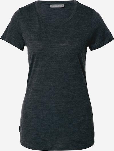 Icebreaker Functioneel shirt 'Sphere' in de kleur Zwart gemêleerd, Productweergave