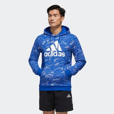 ADIDAS PERFORMANCE Sweatshirt in de kleur Blauw: Vooraanzicht