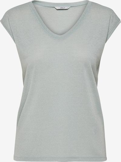 ONLY T-Shirt 'Onlsilvery' in silbergrau, Produktansicht