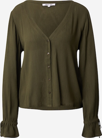 ABOUT YOU Bluse 'Nena' i grønn