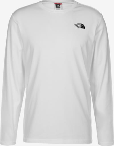 THE NORTH FACE Longsleeve ' Red Box ' in weiß, Produktansicht