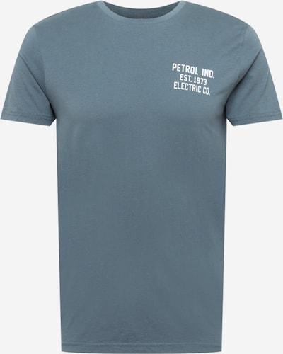 Petrol Industries Μπλουζάκι σε γκρι καπνού / λευκό, Άποψη προϊόντος