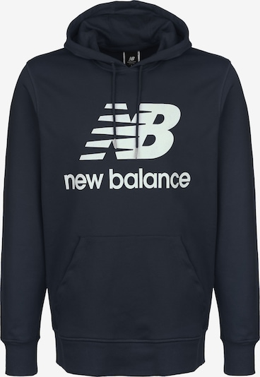 new balance Sweatshirt in navy / weiß, Produktansicht