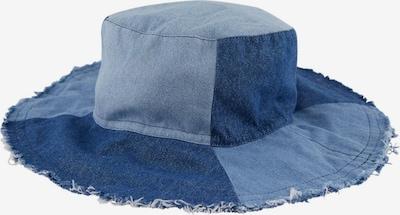 PIECES Hut in blue denim / dunkelblau, Produktansicht
