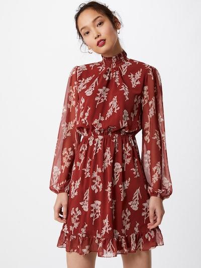 Trendyol Kleid in rostrot / weiß, Modelansicht