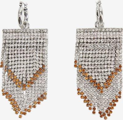 MANGO Uhani 'Catrine' | oranžna / srebrna barva, Prikaz izdelka