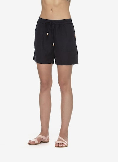 Ragwear Shorts 'Keito Organic' in navy, Modelansicht