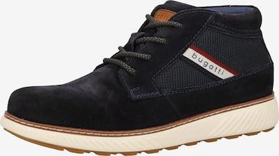 bugatti Sneaker in beige / dunkelblau / braun, Produktansicht
